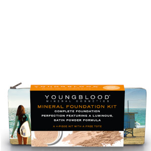 Youngblood Foundation Kit with California Bikini Bag - Loose Neutral