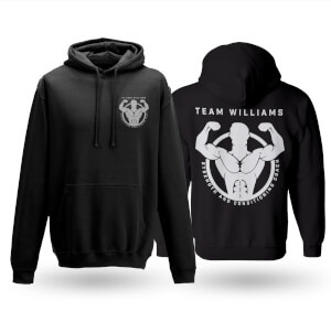 PT Eddie Williams Zip Hoodie - Black