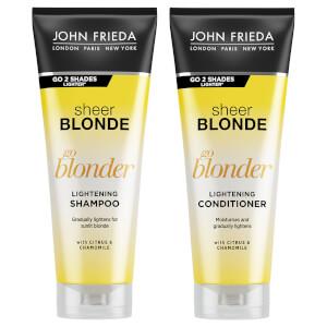 JOHN FRIEDA Sheer Blonde Go Blonder Shampoo & Conditioner