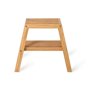 Wireworks Bamboo Slatted Stool