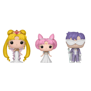 Lot de 3 Figurines Pop! Queen Serenity, Small Lady et Prince Endymion - Sailor Moon