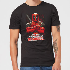 Marvel Deadpool Crossed Arms T-Shirt - Black
