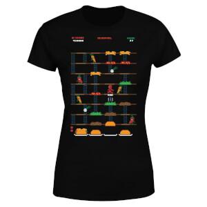 Marvel Deadpool Retro Game Women's T-Shirt - Black