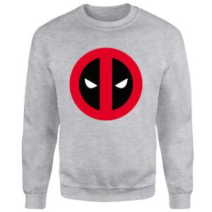 Marvel Deadpool Clean Logo Sweatshirt - Grey