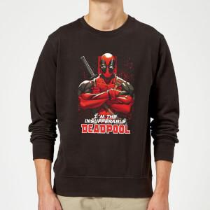Sweat Homme Deadpool (Marvel) Bras Croisés - Noir