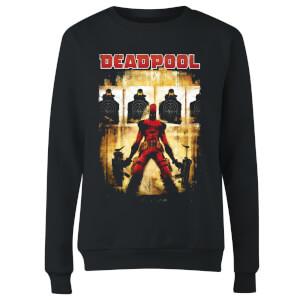 Marvel Deadpool Target Practice Women's Sweatshirt - Black