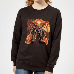Marvel Avengers Infinity War Hulkbuster Women's Sweatshirt - Black