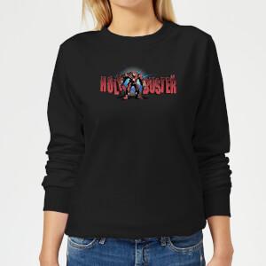 Marvel Avengers Infinity War Hulkbuster 2.0 Women's Sweatshirt - Black
