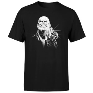 T-Shirt Homme Avengers Infinity War ( Marvel) Fierce Thanos - Noir