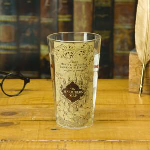 Harry Potter Marauder's Map Water Glass