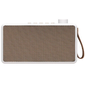 Kreafunk tRADIO DAB+/FM Radio and Bluetooth Speaker - White