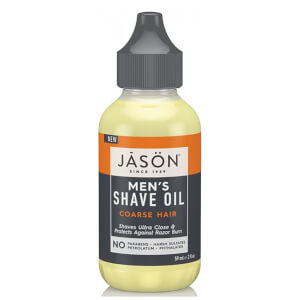 JASON Men's Shave Oil - Coarse Hair