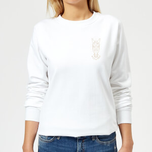 Wild And Free Women's Sweatshirt - White