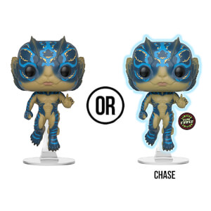 Shape of Water Amphibian Man with Glow Pop! Vinyl Figure