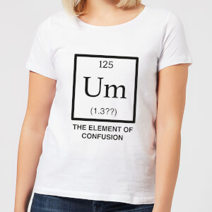 The Element Of Confusion Women's T-Shirt - White