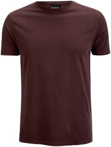 D-Struct Men's Premium Soft Touch Crew Neck T-Shirt - Aubergine