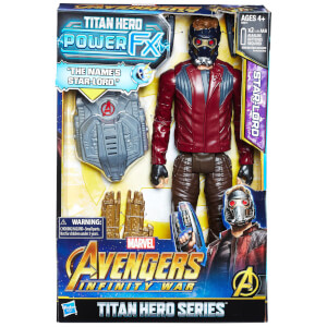 Hasbro Marvel Avengers Infinity War Titan Heroes Power FX Star-Lord Action Figure