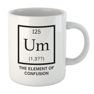 The Element Of Confusion Mug