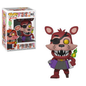 Five Nights at Freddy's Pizza Simulator Rockstar Foxy Pop! Vinyl Figure (VIP ONLY)