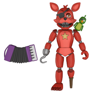 Five Nights at Freddy's Pizza Simulator - Rockstar Foxy Action Figur