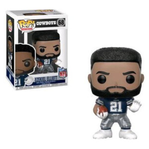 NFL Ezekiel Elliott (Away) EXC Pop! Vinyl Figure