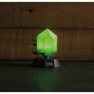 The Legend of Zelda Green Rupee 3D-lamp