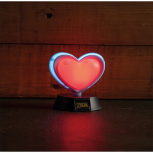 The Legend of Zelda Heart Container 3D-lamp