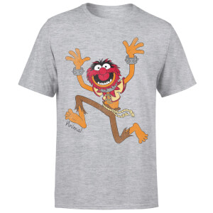 T-Shirt Homme Animal Muppets Disney - Gris