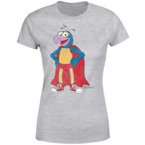 Disney Die Muppet Show Gonzo Classic Damen T-Shirt - Grau