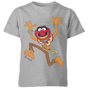T-Shirt Enfant Animal Muppets Disney - Gris