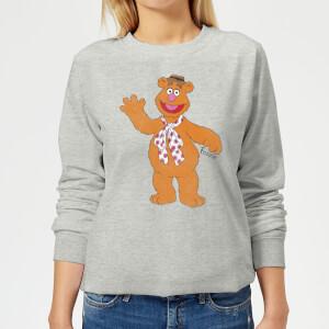 Sudadera Disney Los Teleñecos Fozzie el oso - Mujer - Gris