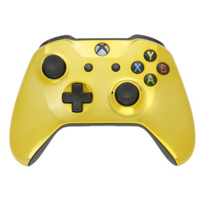 Xbox One S - Chrome Gold Edition