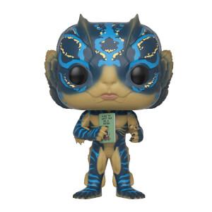 Figurine Pop! Homme Grenouille avec Carte - La Forme de l'Eau