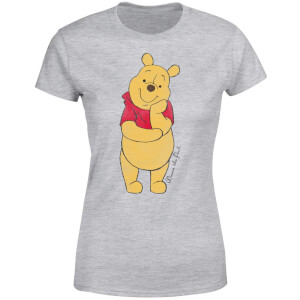 T-Shirt Femme Winnie l'Ourson Disney - Gris