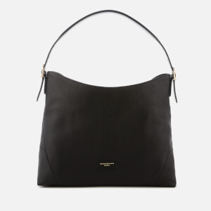 "Aspinal of London Women's Small ""A"" Hobo Bag - Black"