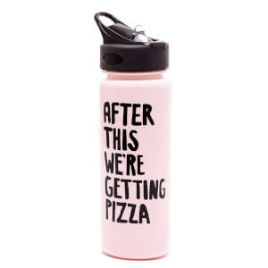 Ban.do Work It Out Water Bottle - After This We're Getting Pizza