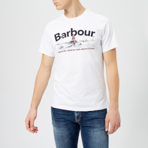 Barbour Men's Waterline T-Shirt - White