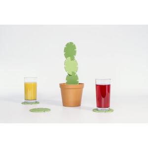 Kaktus-Untersetzer (Bambus)
