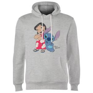 Disney Lilo & Stitch Classic Hoodie - Grey