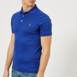 Polo Ralph Lauren Men's Pima Polo Shirt - Blue