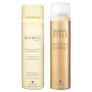 Alterna Bamboo Style Dry Finishing Spray and Anti-Humidity Hairspray Duo