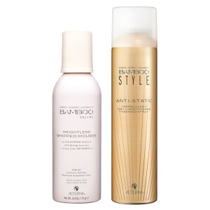 Alterna Bamboo Style Dry Finishing Spray and Weightless Whipped Mousse Duo