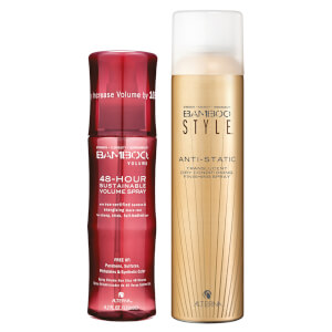 Alterna Bamboo Style Dry Finishing Spray and Volume 48 Hour Spray Duo