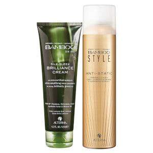Alterna Bamboo Style Dry Finishing Spray and Luminous Shine Brilliance Cream