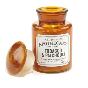 Paddywax Apothecary 8oz - Tobacco & Patchouli