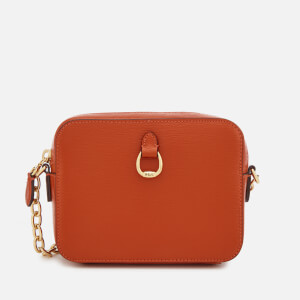 Lauren Ralph Lauren Women's Bennington Small Camera Cross Body Bag - Burnt Orange