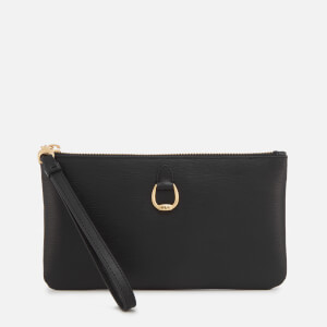 Lauren Ralph Lauren Women's Bennington Medium Wristlet - Black