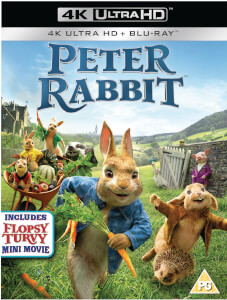 Peter Rabbit - 4K Ultra HD and Blu-ray (2 Discs)