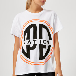 P.E Nation Women's The Acrobatics Short Sleeve T-Shirt - White