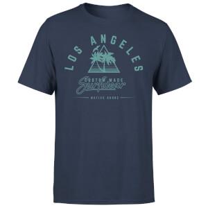 Native Shore Men's Los Angeles Surfwear T-Shirt - Navy